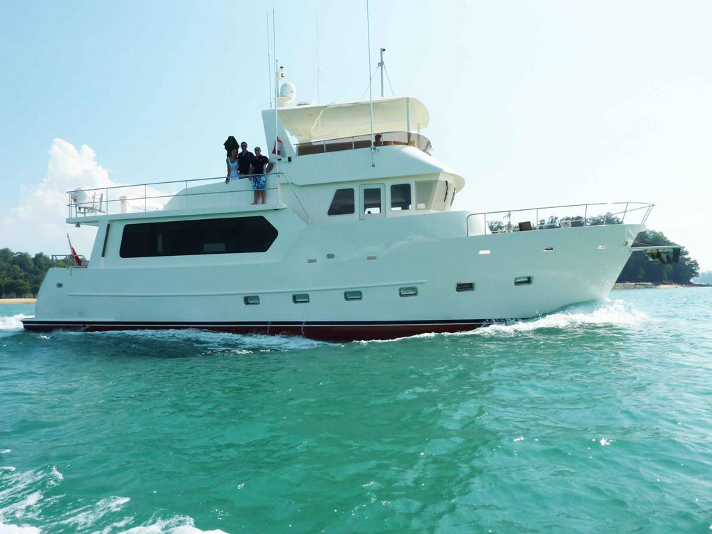 2009 Bruce Roberts TY620 65' Trawler Yacht
