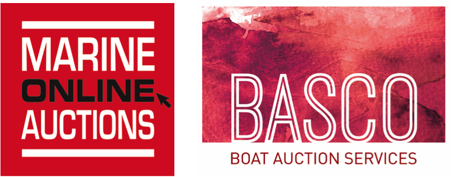 Online Boat Auction Asia Combined Logo