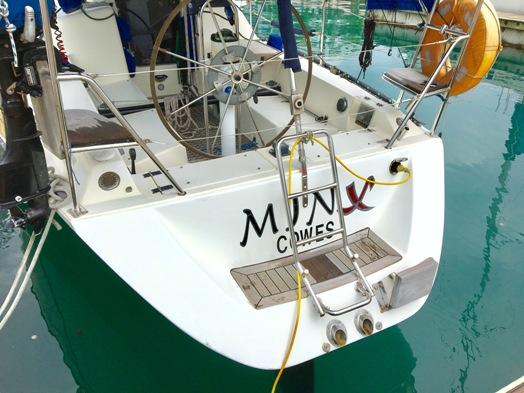 1991 X-Yacht 342 Minx