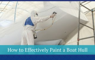 painting boat hull