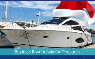 Buying a Boat in Asia