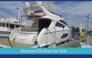 Horizon E56 Boat for Sale