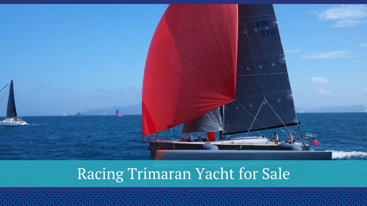 Racing Trimaran Yacht for Sale | BASCO