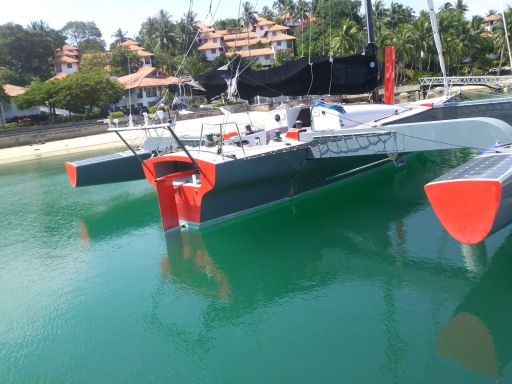 Carbon Trimaran For Sale