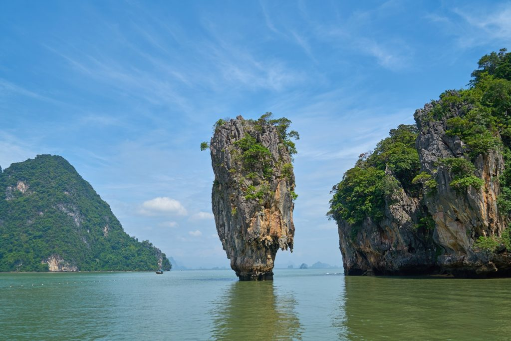 Phang Nga Bay of Thailand