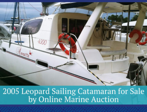 2005 Leopard Sailing Catamaran for Sale by Online Marine Auction
