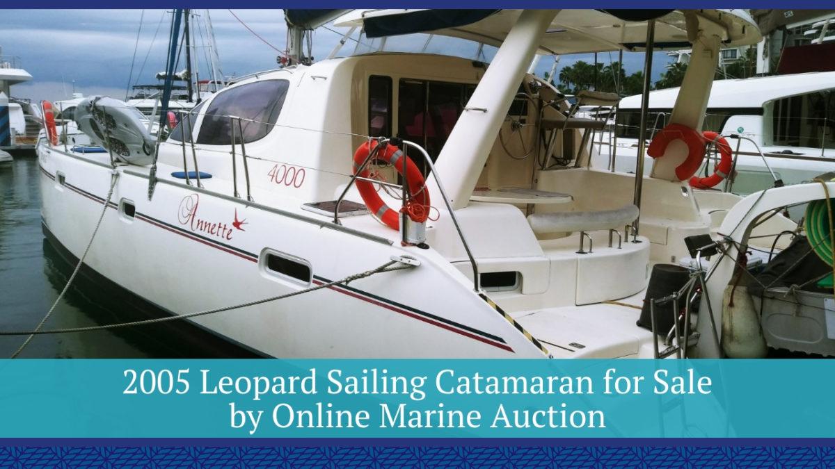 2005 Leopard Sailing Catamaran