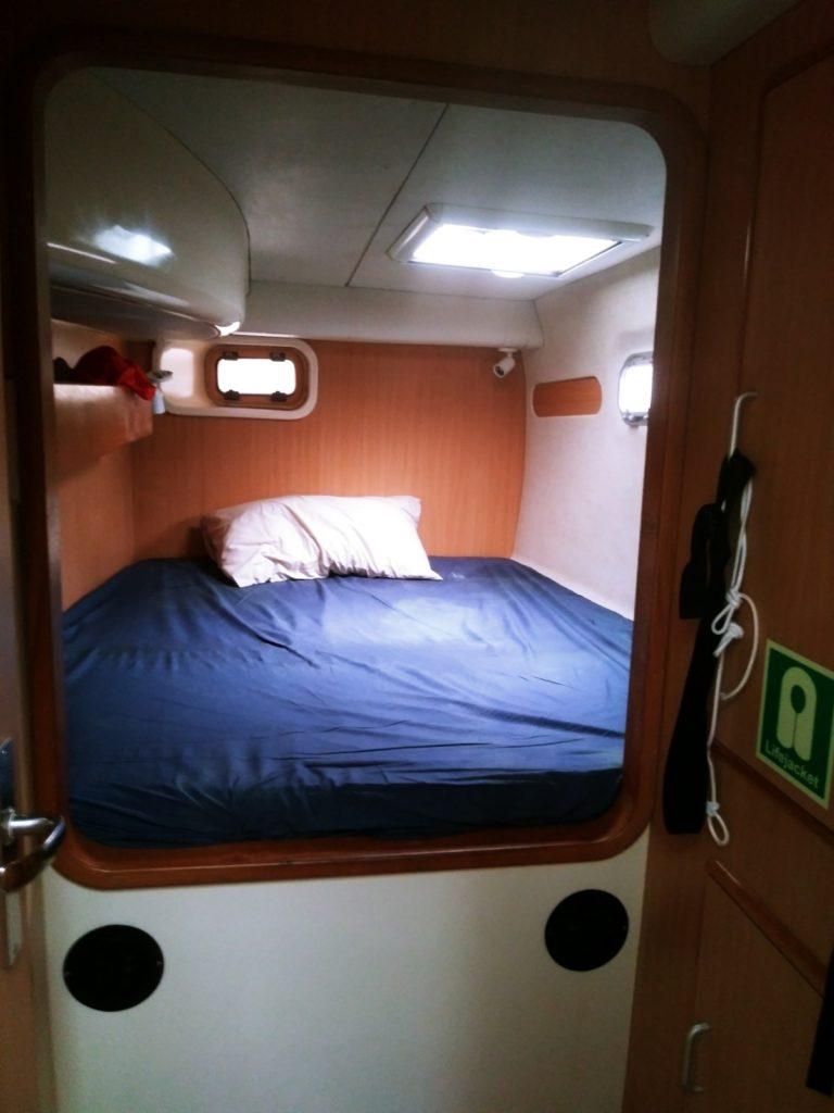 2005 Leopard Sailing Catamaran - Cabin